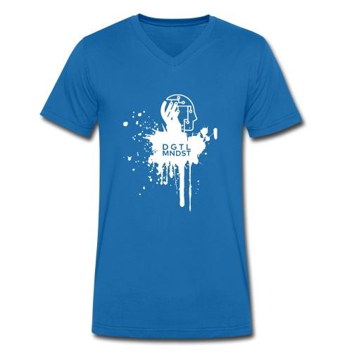 DGTL MNDST - Männer Bio-T-Shirt mit V-Ausschnitt von Stanley & Stella