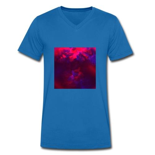 Gemisch - Männer Bio-T-Shirt mit V-Ausschnitt von Stanley & Stella