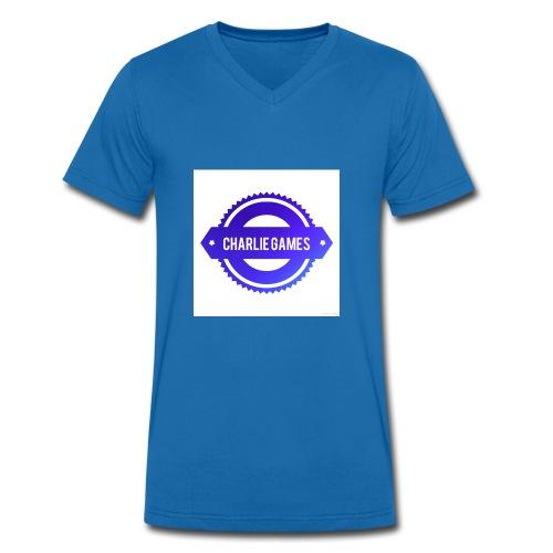 36660E23 EDF8 4476 82F6 F00DF1B9A3B6 - Men's Organic V-Neck T-Shirt by Stanley & Stella