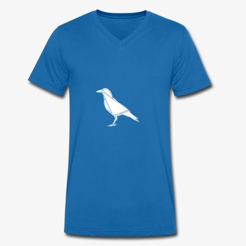 polyRaven - Männer Bio-T-Shirt mit V-Ausschnitt von Stanley & Stella