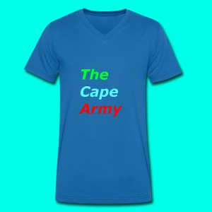 The Cape Army - Men's Organic V-Neck T-Shirt by Stanley & Stella