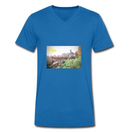 freebuildplays - Männer Bio-T-Shirt mit V-Ausschnitt von Stanley & Stella