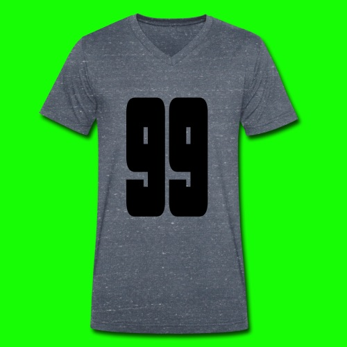 99gross - Männer Bio-T-Shirt mit V-Ausschnitt von Stanley & Stella
