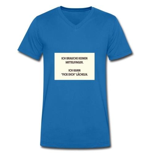 Z - Männer Bio-T-Shirt mit V-Ausschnitt von Stanley & Stella