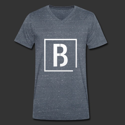 Bitfctry New Logo - Männer Bio-T-Shirt mit V-Ausschnitt von Stanley & Stella
