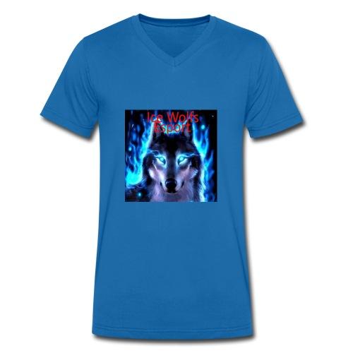 Ice Wolfs Esport Merch - Økologisk Stanley & Stella T-shirt med V-udskæring til herrer