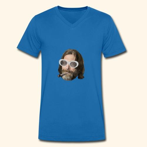 Ola Conny: Turnt Up Collection - Ekologisk T-shirt med V-ringning herr från Stanley & Stella