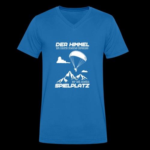 Paragliding - Männer Bio-T-Shirt mit V-Ausschnitt von Stanley & Stella