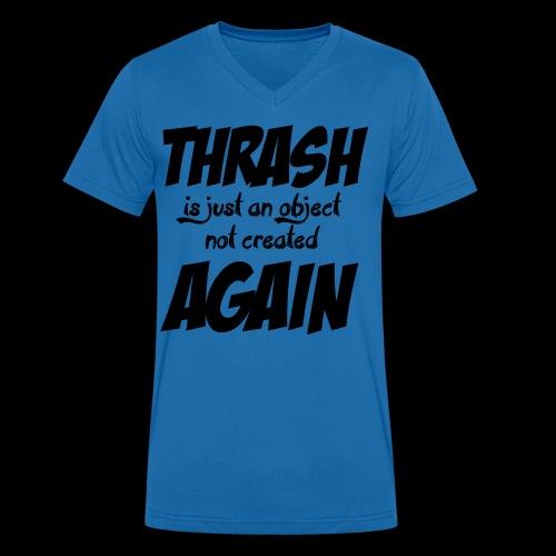 THRASH DE NOUVEAU - T-shirt bio col V Stanley & Stella Homme