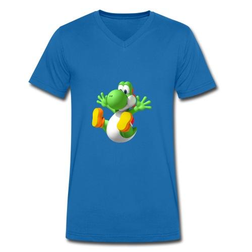 Yoshi T shirt! - Men's Organic V-Neck T-Shirt by Stanley & Stella