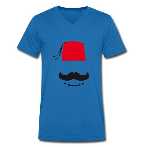Osmanisch - Männer Bio-T-Shirt mit V-Ausschnitt von Stanley & Stella