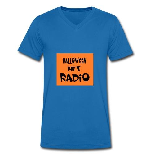 HALLOWEEN HIT RADIO FAN T-SHIRT - Männer Bio-T-Shirt mit V-Ausschnitt von Stanley & Stella