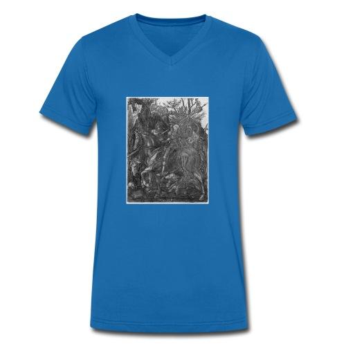 Ritter, Tod und Teufel - Männer Bio-T-Shirt mit V-Ausschnitt von Stanley & Stella