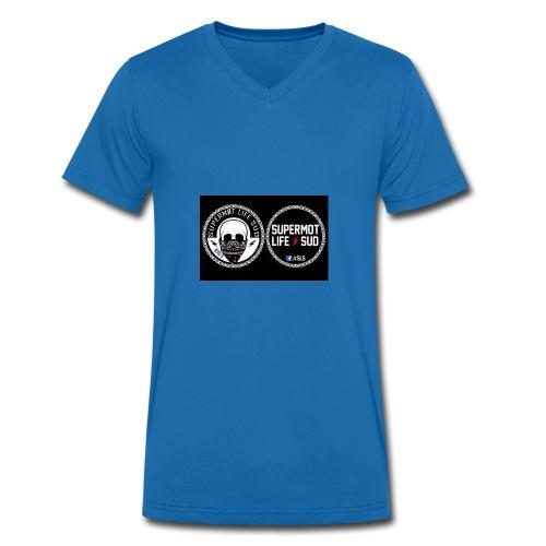 logo sls - T-shirt bio col V Stanley & Stella Homme