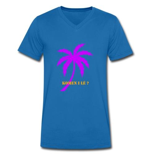 palmier - T-shirt bio col V Stanley & Stella Homme