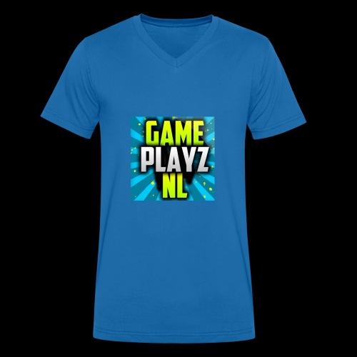 vette game - Mannen bio T-shirt met V-hals van Stanley & Stella