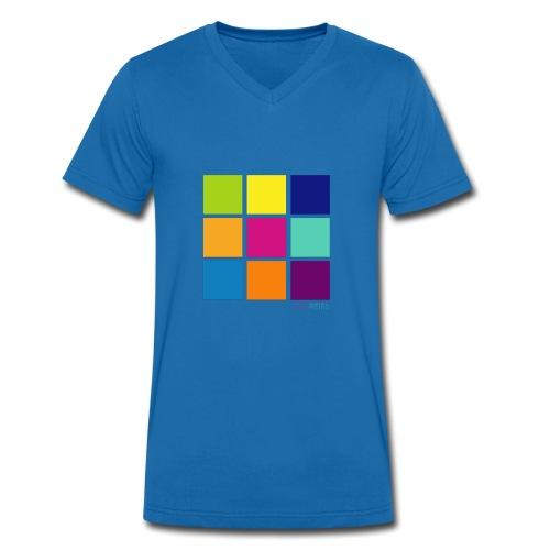 DarnWeird Nine - Mannen bio T-shirt met V-hals van Stanley & Stella