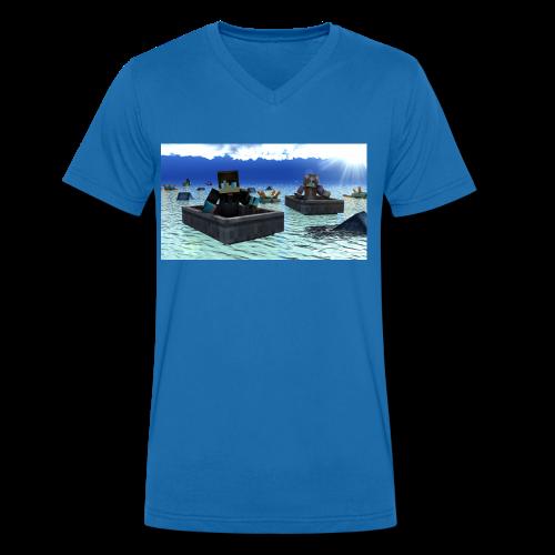 mit freundin auf der see - Männer Bio-T-Shirt mit V-Ausschnitt von Stanley & Stella