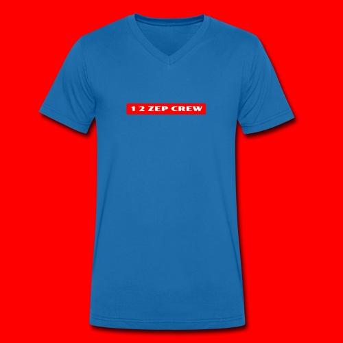 1 2 ZEP CREW Design - Men's Organic V-Neck T-Shirt by Stanley & Stella