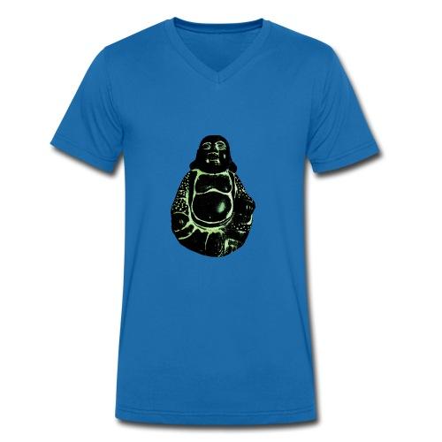 Dark Buddha - Mannen bio T-shirt met V-hals van Stanley & Stella
