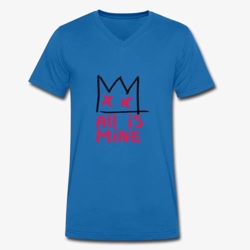 Sick Boy all is mine - T-shirt bio col V Stanley & Stella Homme