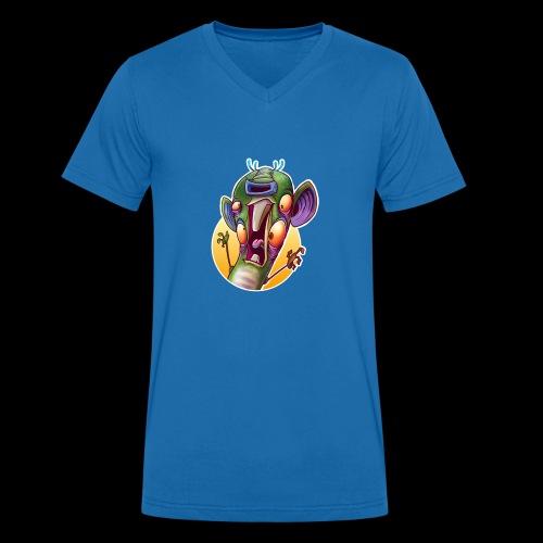Hamster - Männer Bio-T-Shirt mit V-Ausschnitt von Stanley & Stella