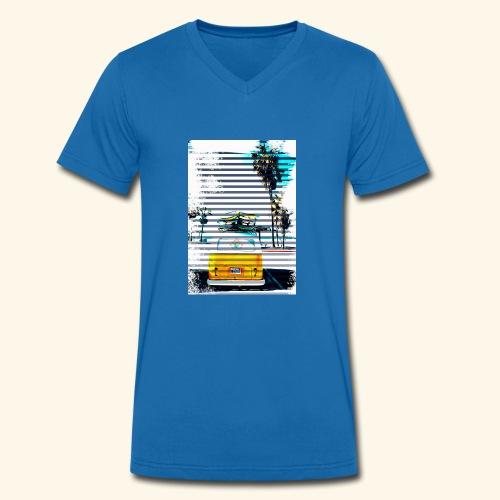 Billie - Mannen bio T-shirt met V-hals van Stanley & Stella