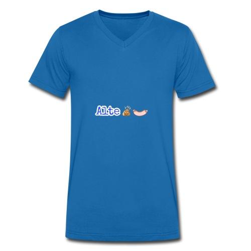 AlteKackWurst - Männer Bio-T-Shirt mit V-Ausschnitt von Stanley & Stella