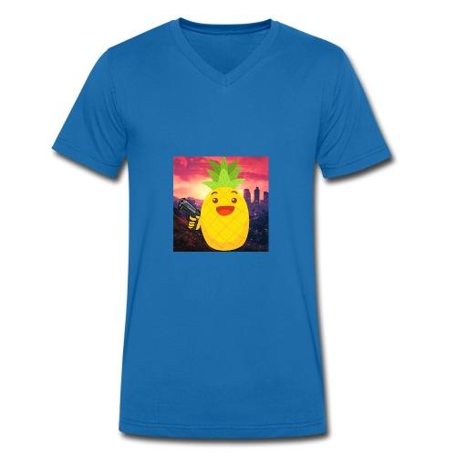 AimSkill Merch - Männer Bio-T-Shirt mit V-Ausschnitt von Stanley & Stella
