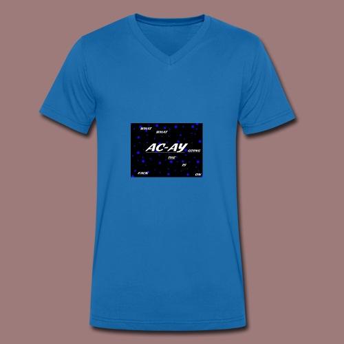 AC-AY HODDIE - Männer Bio-T-Shirt mit V-Ausschnitt von Stanley & Stella