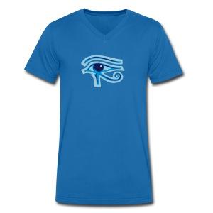 Ägypten-Auge des Horus - Männer Bio-T-Shirt mit V-Ausschnitt von Stanley & Stella