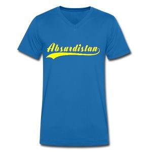 Absurdistan - Ekologisk T-shirt med V-ringning herr från Stanley & Stella