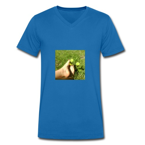Tasse mit bedruck - Männer Bio-T-Shirt mit V-Ausschnitt von Stanley & Stella