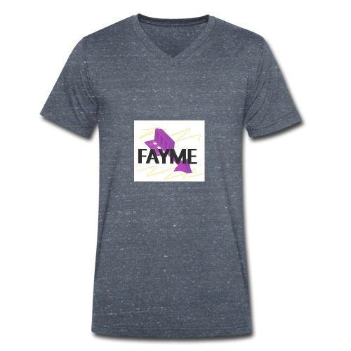 FAYME - Men's Organic V-Neck T-Shirt by Stanley & Stella
