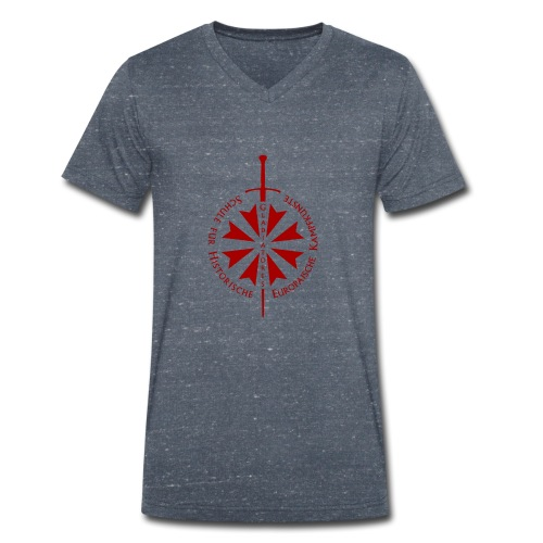 Logo frei - Männer Bio-T-Shirt mit V-Ausschnitt von Stanley & Stella