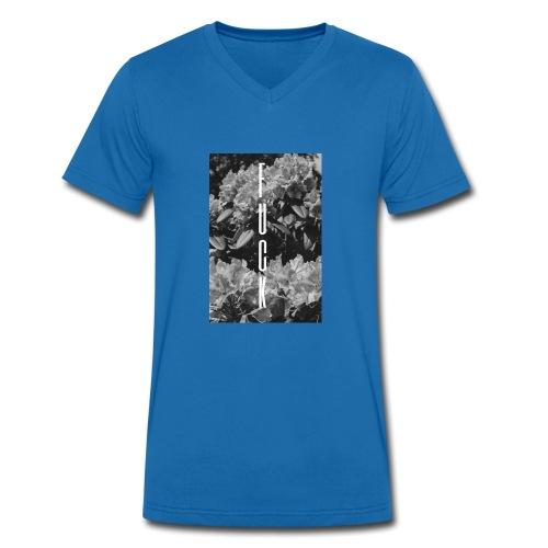FCK - Männer Bio-T-Shirt mit V-Ausschnitt von Stanley & Stella
