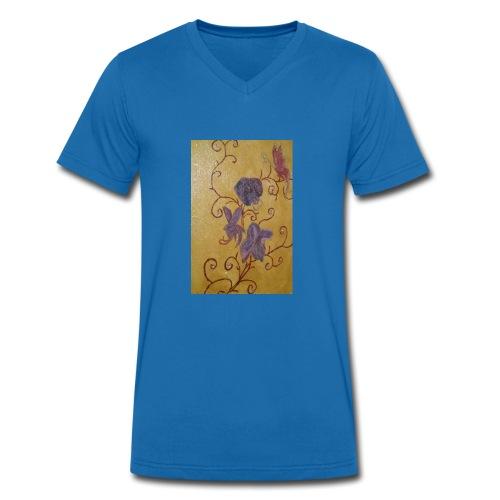 Tasse Kaffee - Männer Bio-T-Shirt mit V-Ausschnitt von Stanley & Stella