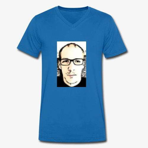 8bit - Männer Bio-T-Shirt mit V-Ausschnitt von Stanley & Stella