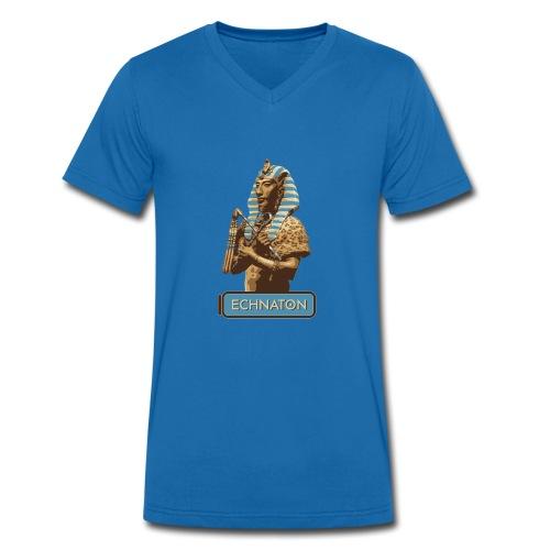 Echnaton – Sonnenkönig von Ägypten - Männer Bio-T-Shirt mit V-Ausschnitt von Stanley & Stella