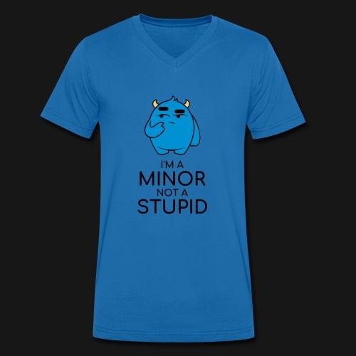 I'm a minor not a stupid - T-shirt ecologica da uomo con scollo a V di Stanley & Stella