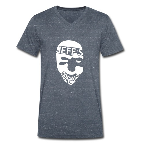 Jeff's Special - Mannen bio T-shirt met V-hals van Stanley & Stella