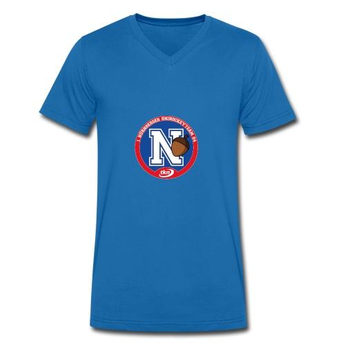 NUTS Authentic - Männer Bio-T-Shirt mit V-Ausschnitt von Stanley & Stella