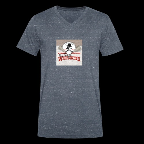 Weekender vs MofoMusic - Männer Bio-T-Shirt mit V-Ausschnitt von Stanley & Stella
