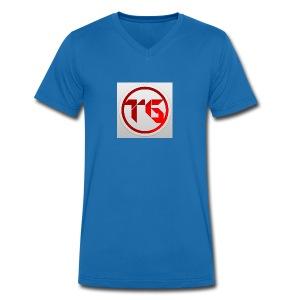TeveelGames - Mannen bio T-shirt met V-hals van Stanley & Stella