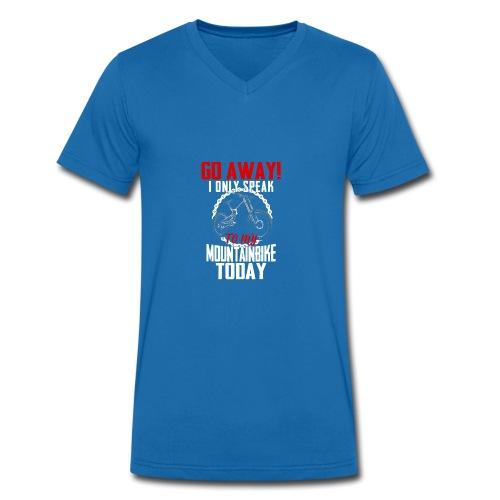 Mountainbike Shirt · Fahrrad · Downhill · Biker - Männer Bio-T-Shirt mit V-Ausschnitt von Stanley & Stella