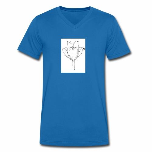 kolel - Økologisk Stanley & Stella T-shirt med V-udskæring til herrer