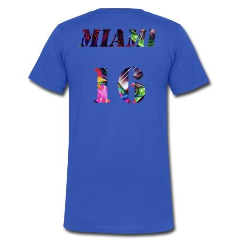 Miamia 16 baby - Männer Bio-T-Shirt mit V-Ausschnitt von Stanley & Stella