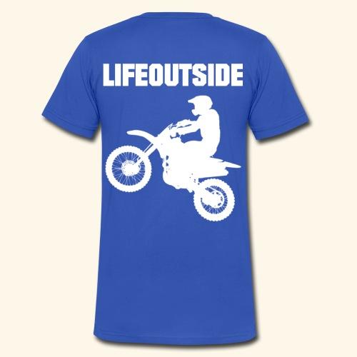 Motocross - Männer Bio-T-Shirt mit V-Ausschnitt von Stanley & Stella