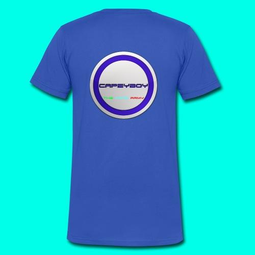 Cape Logo - Men's Organic V-Neck T-Shirt by Stanley & Stella