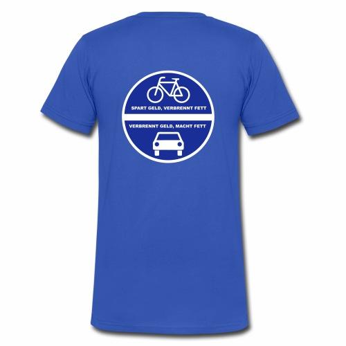 Sparverbrenner - Männer Bio-T-Shirt mit V-Ausschnitt von Stanley & Stella